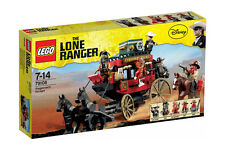 Lego The Lone Ranger 79108 STAGECOACH ESCAPE Horse Carriage Western Minifig NISB