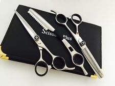 "6""Professional Hair Cutting Thinning Scissors Barber Shears Hairdressing+Razor"