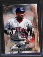 1996 Topps Gallery Players Private Issue #152 Kirby Puckett No 572