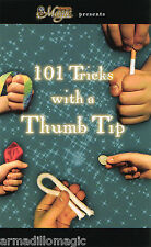 101 Tricks With A Thumb Tip Booklet - Magic Trick Book