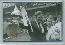 Leeds United FC Vintage F.A Cup Final Winners Retro Don Revie Coin Gift Set 1972