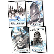 Brandon Sanderson Mistborn 4 Books Collection Set The Alloy Of Law Final Empire