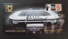 GB 2007 MK Dons  Bletchley Park cover signed Pete Winkleman Ltd Ed 331 of 500