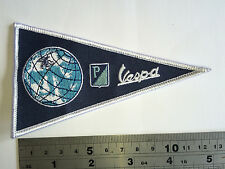 Vespa World FLAG Patch - Embroidered - Iron or Sew On