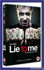 LIE TO ME - COMPLETE SEASON 3 *BRAND NEW DVD **