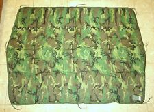 U.S. ARMY WOODLAND CAMOUFLAGE PONCHO LINER (WOOBIE) - NEW WITH CARDBOARD TAGS