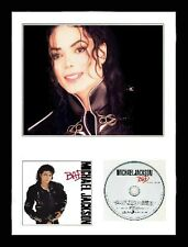 Michael Jackson / Limited Edition / Framed / Photo & CD Presentation / Bad