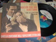 """7"""" OST QUELLA CAROGNA DELL'ISPETTORE STERLING RCA OC1 MINT ROBBY POITEVIN ORCH."""