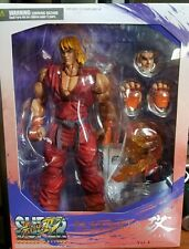 Super Street Fighter IV Ken Play Arts Kai Action Figure Arcade Edition NEW