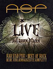 ASP LIVE ... auf rauen Pfaden 4CD+BUCH 2016 LTD.7000