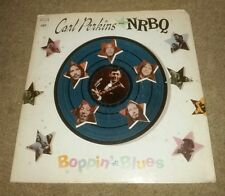Carl Perkins & NRBQ Boppin' the Blues Album LP Vinyl 1969 Columbia Records RARE!
