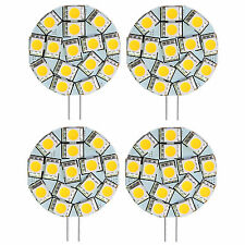 4x G4 15 LEDs SMD5050 Bulb White for Marine Boat Sailboat Yacht  Interior Light