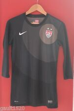 NWT NIKE Women's US Soccer Football Dri-Fit Black Training Signature Top XL $85