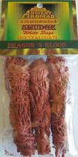 Dragon's Blood Ritual Smudge Sticks 3 pack Wiccan Pagan Witchcraft Altar DR