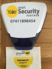 Yale Smart Security Partner Dummy Alarm Brand New In Box with Yale stickers