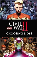 MARVEL COMICS CIVIL WAR 2: CHOOSING SIDES TRADE PAPERBACK TPB CIVIL WAR II