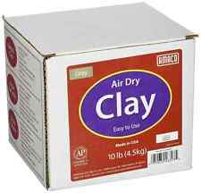AMACO Air Dry Modeling Clay, 10-Pound, Gray
