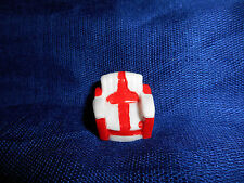 COCA COLA Logo White Red PADDED CHAIR Mini Figurine French Porcelain FEVES COKE