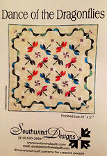 New DANCE OF THE DRAGONFLIES pieced quilt pattern - Southwind Designs