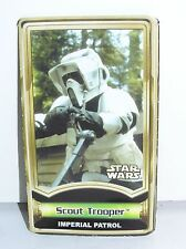 Star Wars Force File Insert for Scout Trooper Power of the Jedi POTJ 2000