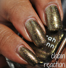 NEW! Deborah Lippmann CHAIN REACTION Polish Lacquer - full size