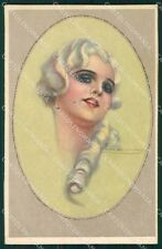 Corbella Italian Art Deco Lady Degami serie 2252 postcard cartolina QT6751