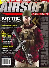 AIRSOFT Insider Magazine Spring 2016 SHOT SHOW 2016 Boots On The Ground GEAR FIX