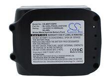 14.4v Batteria Per Makita bhp444z bhp446rfe bhp446z 194065-3 Premium Cella UK NUOVO