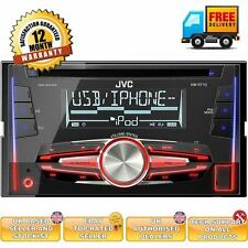 JVC KW-R710 Double Din car Stereo iPhone/iPod USB/AUX car stereo new 2014
