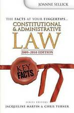 Constitutional and Administrative Law by Joanne Sellick (Paperback, 2009)