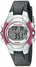 Sport Watch,Timex Women's Marathon Digital Water ersistant, Grey Pink