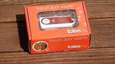 Totes  Travel Door Alarm  for Hotel or Dorm Rooms