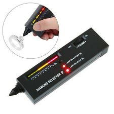 Diamond Tester Gemstone Moissanite Selector II Jewelry Jewellery Tool LED Audio