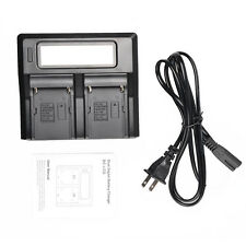 LCD Battery Charger For Sony NP-F550 NP-F750 NP-F960 NP-F970 Camcorder Batteries
