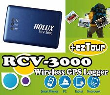Holux RCV-3000 Bluetooth Wireless GPS Logger Receiver ezTour/ Advanced M-1000C