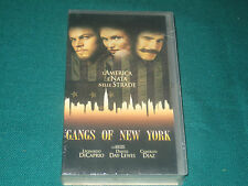 GANGS OF NEW YORK  VIDEOCASSETTA NUOVA SIGILLATA