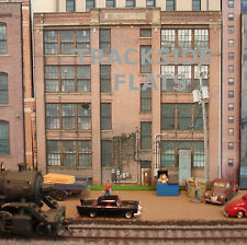 #140 HO scale background building flat PORTAGE POLYMERS SIDE   FREE SHIPPING