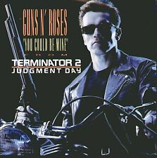 """GUNS N' ROSES-"""" YOU COULD BE MINE """"FROM TERMINATOR 2 JUDGMENT DAY """"45 GIRI NUOVO"""