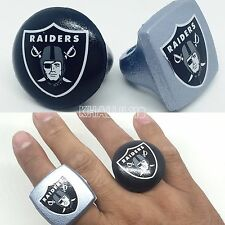 Oakland Raiders NFL Foam Fan Rings Accessory Decoration Team Pride