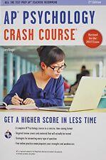 AP® Psychology Crash Course Book + Online Advanced Placement AP Crash Course