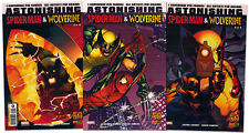 serie Astonishing SPIDER-MAN & WOLVERINE completa 1/3 Ed. Marvel Panini