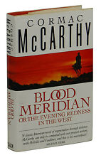 Blood Meridian ~ CORMAC MCCARTHY ~ First British Edition 1989 ~ 1st Printing