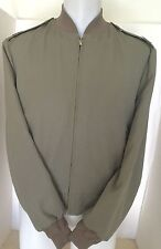 USMC Tanker Intermediate Weight Pewter Jacket Men's LARGE ( 46 )  MINT