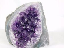 AMU90 Uruguayan Dark Purple Free Standing Amethyst Quartz Geode Crystal Gift