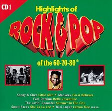 HIGHLIGHTS OF ROCK & POP OF THE 60-70-80TH - VOL. 1 / CD - TOP-ZUSTAND