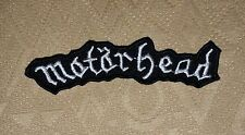 Motorhead Rock Punk Music Band Logo Iron/ Sew-on Embroidered Patch / Badge