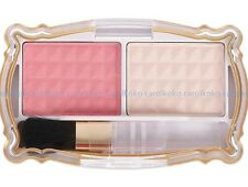 {DISCOUNT}DAISO NEW Palette 2 Color Cosmetic Makeup Blush Blusher Powder -PINK