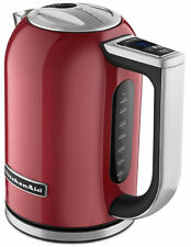 New KitchenAid Stainless Steel Electric Variable Temp Water Kettle KEK1722ER Red