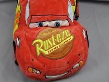 BIG DISNEY CARS RED RUSTEZE LIGHTNING MCQUEEN RACE CAR MICROBEADS PILLOW PLUSH