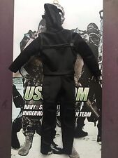 MINI volte US Navy Seal ussocom UDT mt-m003 WET SUIT & Cappuccio Loose SCALA 1/6th